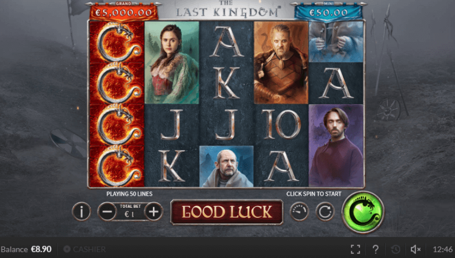 The Last Kingdom Slot