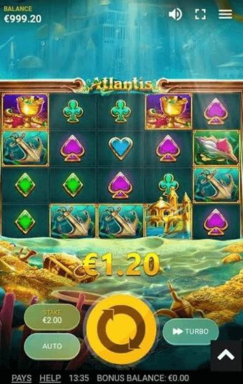Atlantis Slot Mobil
