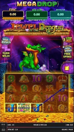 Jewel of the Dragon Slot Mobil