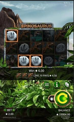 Spinosourus Slot Mobil