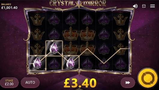 Crystal Mirror Slot Mobil