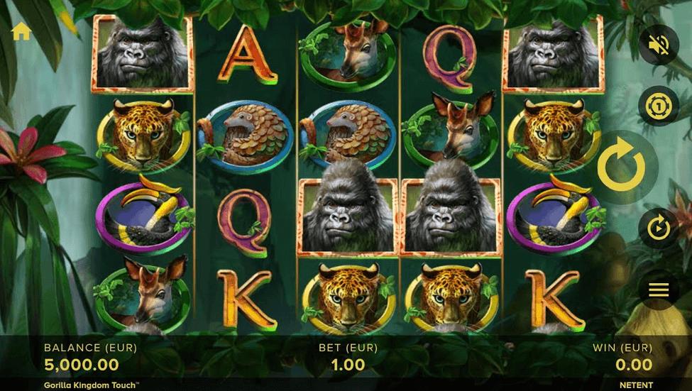 Gorilla Kingdom Slot Mobil