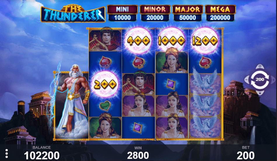 The Thunderer Slot