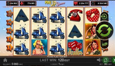 Pin Up Queen Slot Mobil