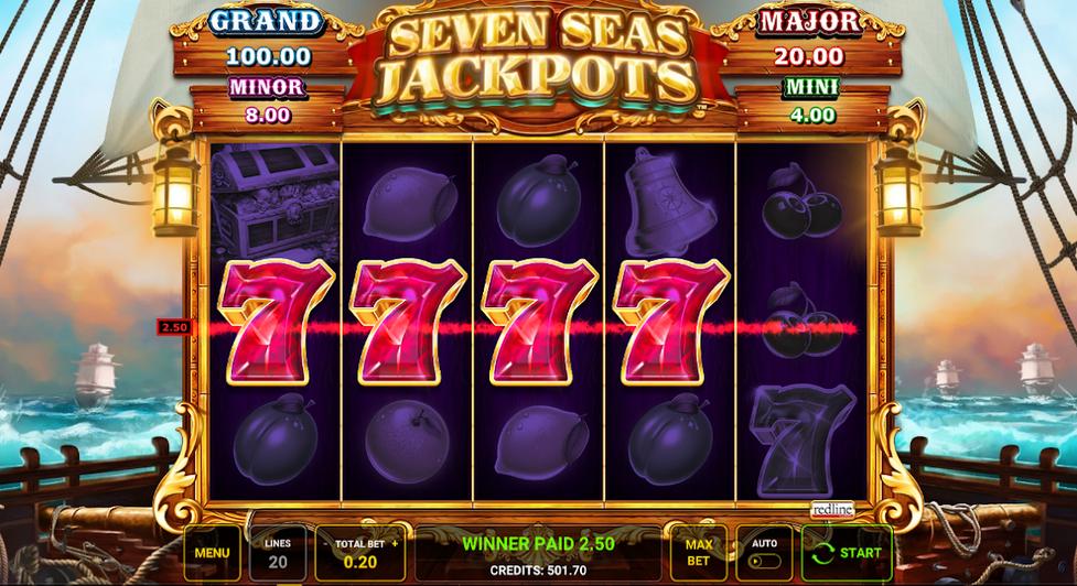 Seven Seas Jackpots Slot