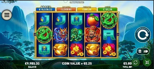Toads Gift Slot Mobil