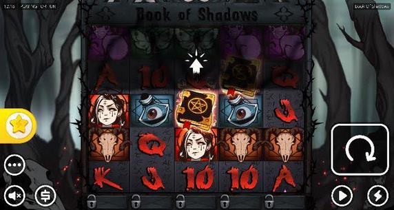 Book of Shadows Slot Mobil