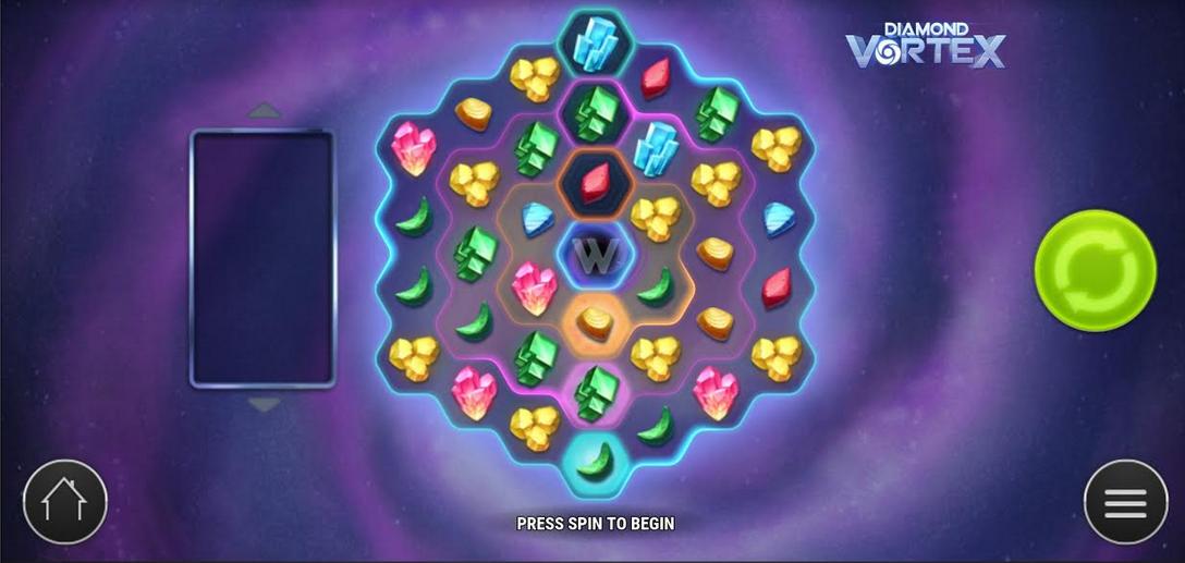 Diamond Vortex Slot Mobil