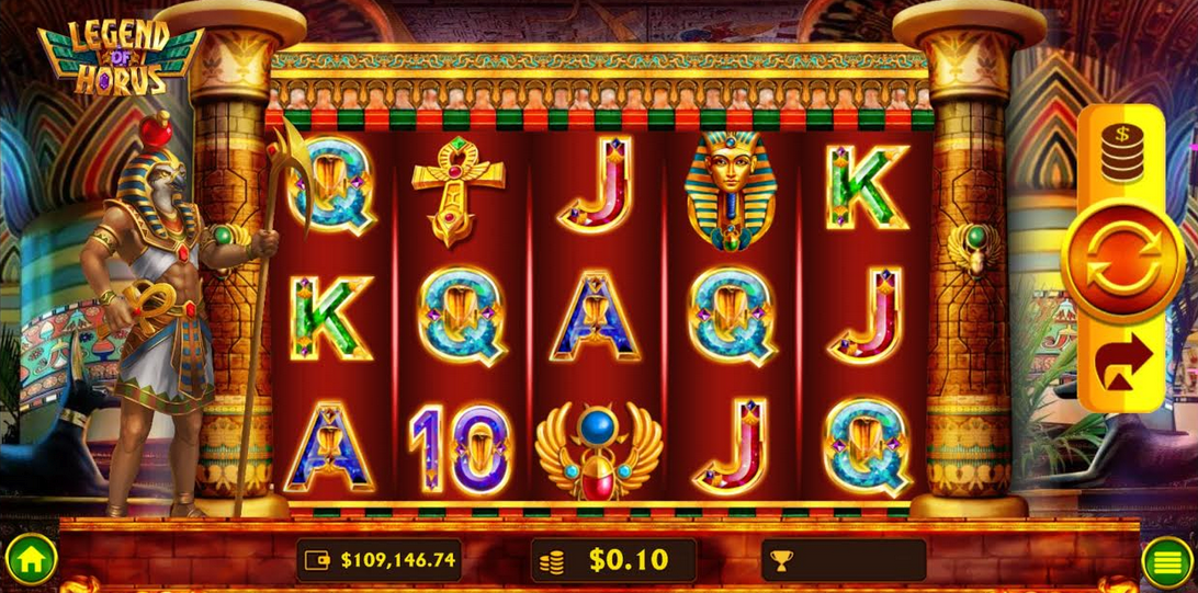 Legend of Horus Slot Mobil