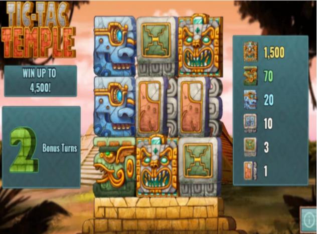 Tic Tac Temple Slot