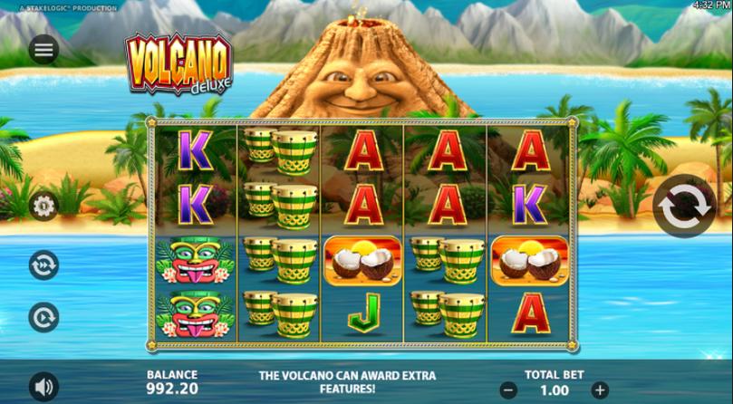 Volcano Delux Slot
