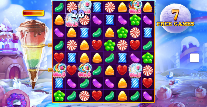 Wild Candy Slot Mobil