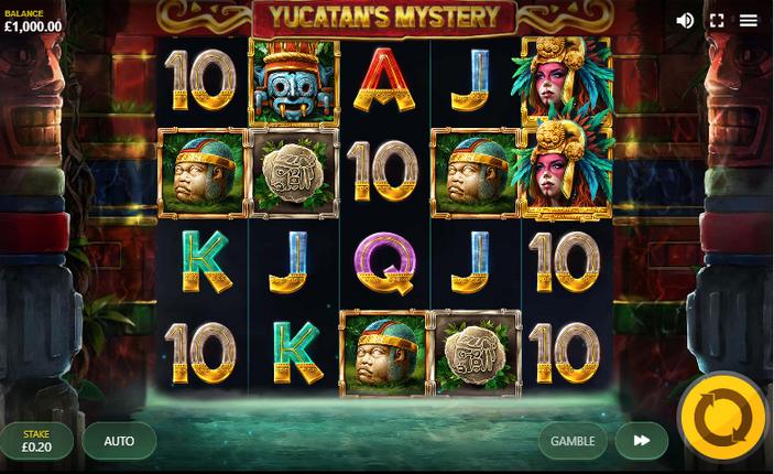 Yucatan's Mystery Slot