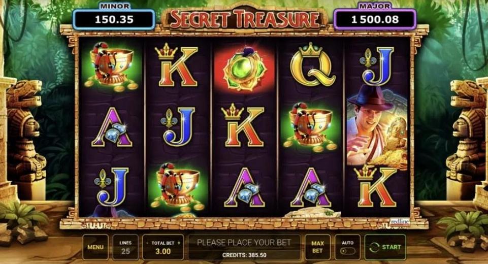 Secret Treasure Slot