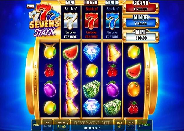 Seven Staxx Slot