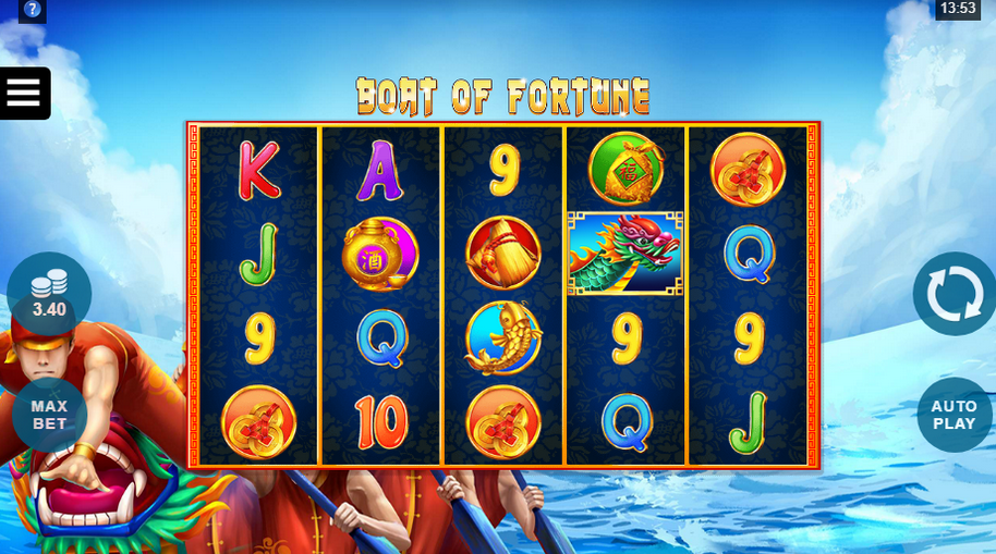 Boat of Fortune Slot