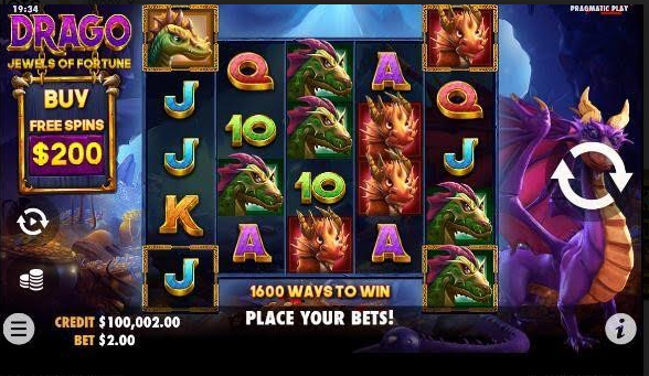 Drago: Jewels of Fortune Slot Mobil
