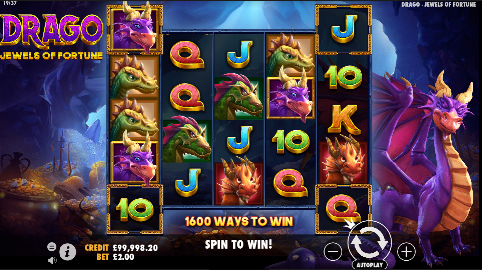 Drago: Jewels of Fortune Slot