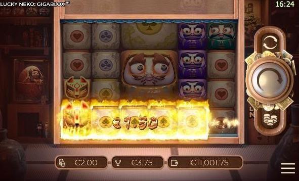 Lucky Neko Gigablox Slot mobil