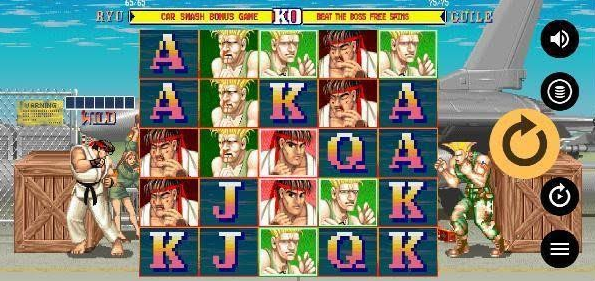 Street Fighter II Slot Mobil