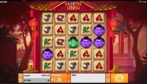Vampire Senpai Slot Mobil