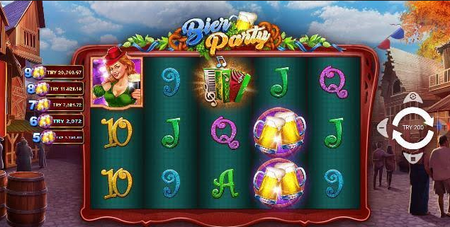 Bier Party Slot Mobil