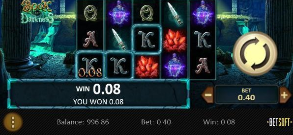 Book of Darkness Slot Mobil