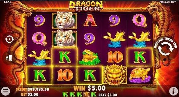 Dragon Tiger Slot Mobil