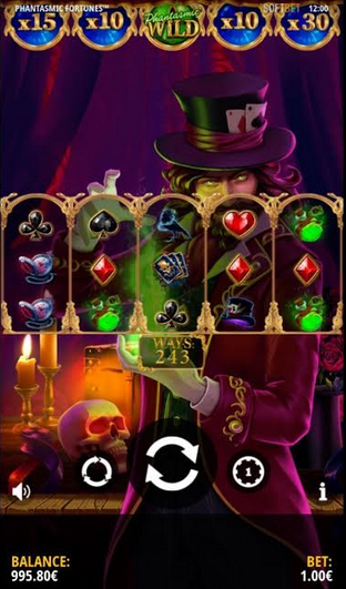 Phantasmic Fortunes Slot Mobil