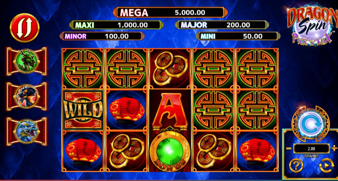 Dragon Spin Pick n Mix Slot