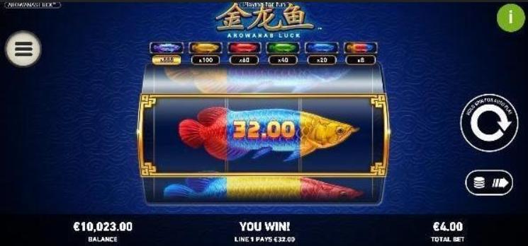 Arowanas Luck Slot Mobil