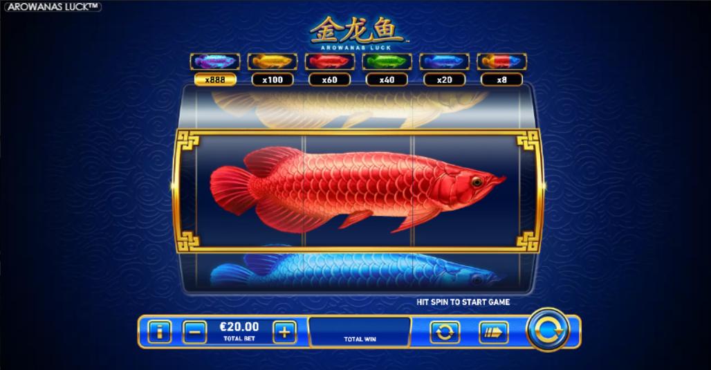 Arowanas Luck Slot