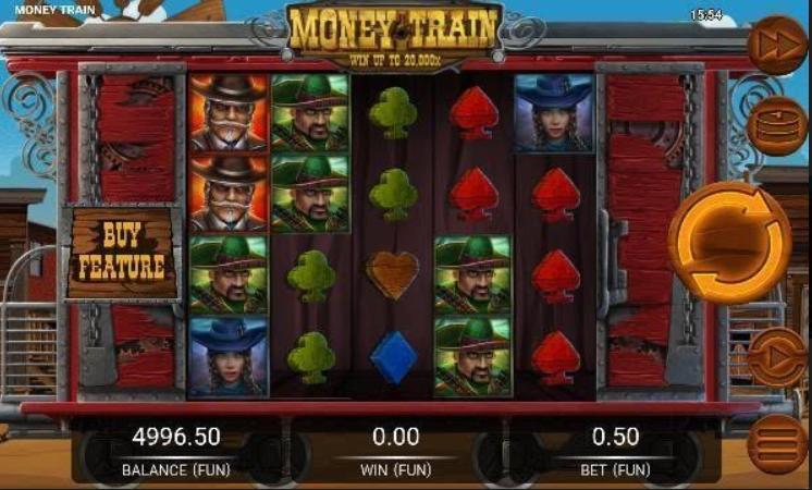 Money Train Slot Mobil