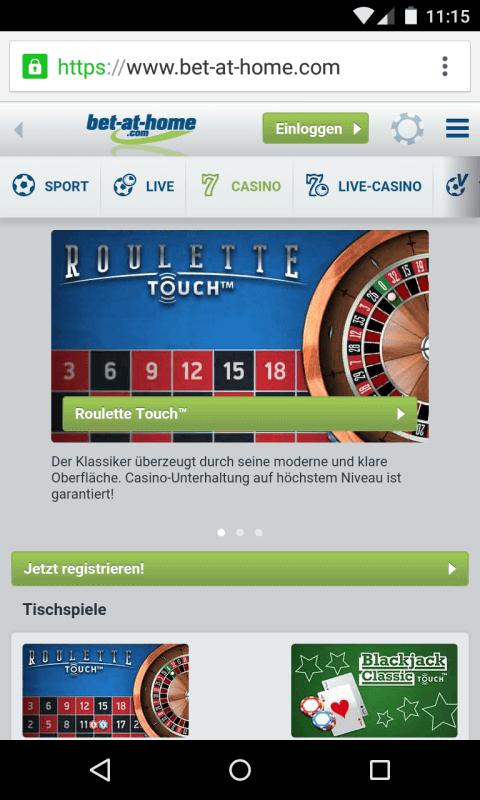 echtgeld casino android