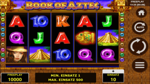 Book of Aztec Slot Adler Casino