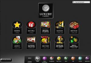 Luxurycasino Lobby