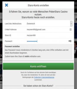 Pokerstars Casino Anmeldung