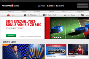 Pokerstars Casino Homepage
