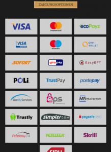 BronzeCasino Zahlungsmethoden