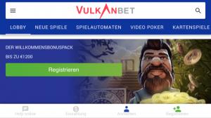Vulkanbet mobile casino