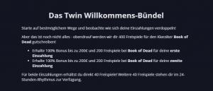 Twin Willkommenspaket