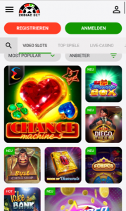 ZodiacBet Spielo App