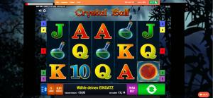 leovegas slot crystal ball