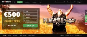 BitStarz-Homepage