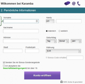 Karamba-Anmeldung2