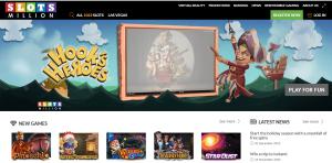 Slots-Million-Startseite