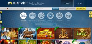 Sunmaker-Homepage